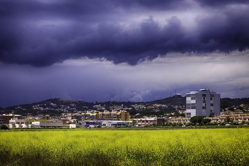 storm  sky  clouds