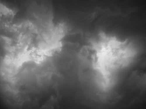 storm sky storm clouds