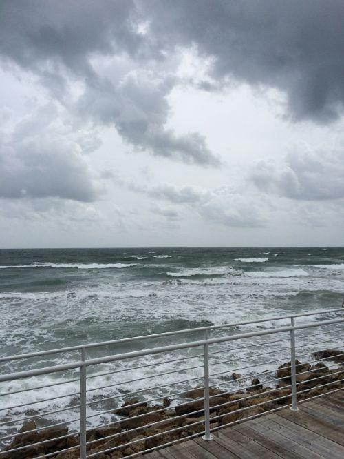 storm cloud atlantic ocean ocean