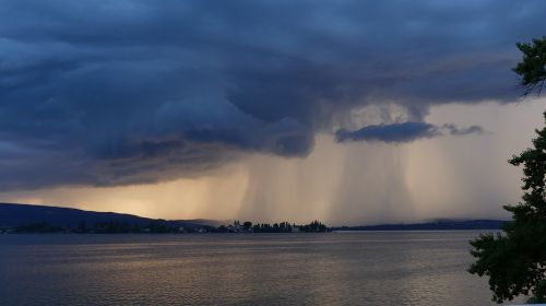 storm lake natural spectacle threatening