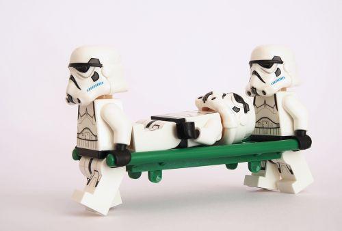 stormtrooper lego stretcher