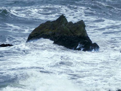 Stormy Swirl Ocean Water