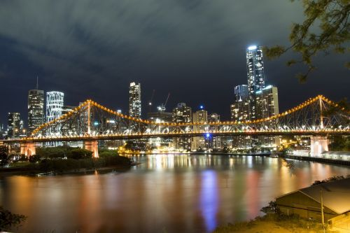 story bridge brisbane night