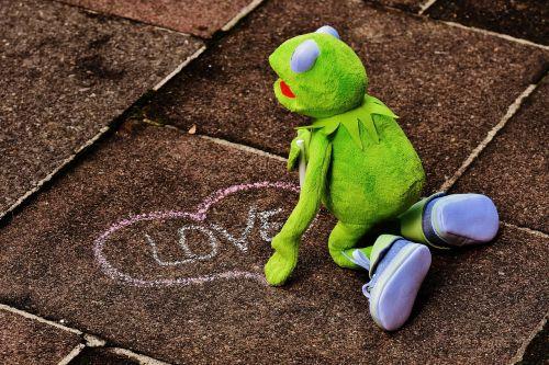 straßenkreide love valentine's day