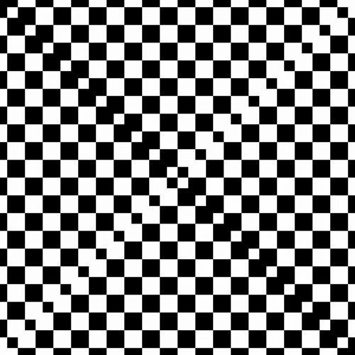 Strange Checkerboard