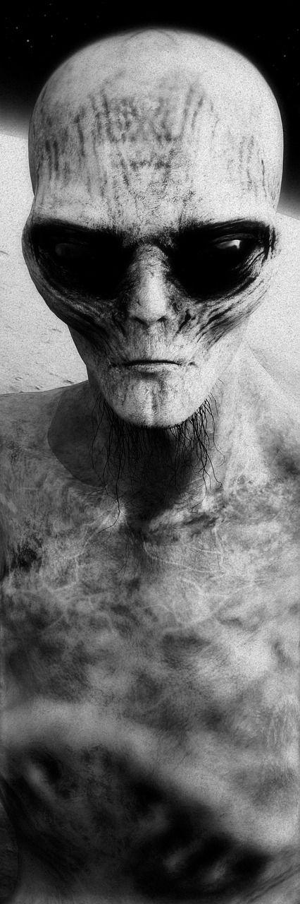 stranger alien 3d model