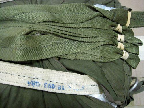 Straps For Parachute Deployment
