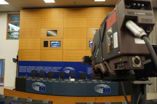 strasbourg european parliament press conference