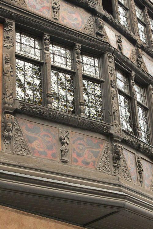 strasbourg studs house facade