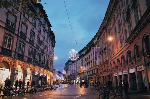strasbourg christmas street