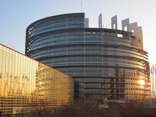 strasbourg  european parliament  architecture