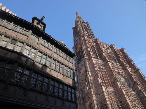 strasbourg cathedral house