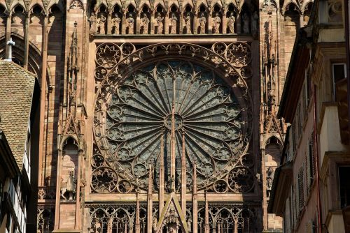strasbourg cathedral gothic