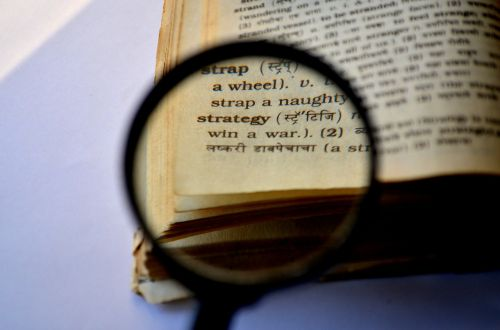 strategy magnifier magnifying glass