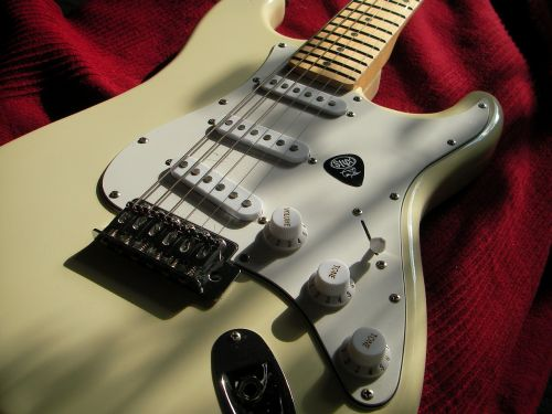 stratocaster electric guitar music