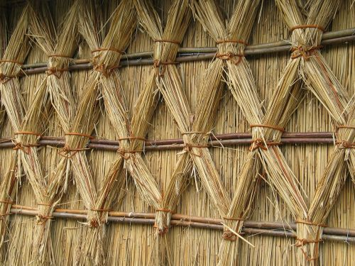straw structure wall