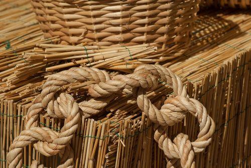 straw wicker braid