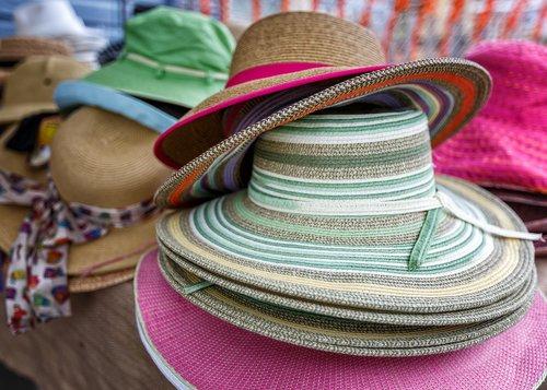 straw  hats  sun hats
