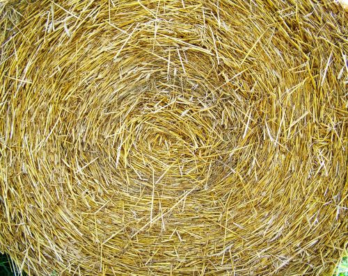 straw bale works compressed grain drying