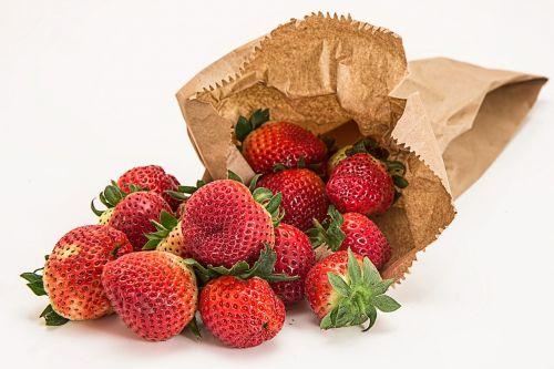 strawberries fresh fruit dessert