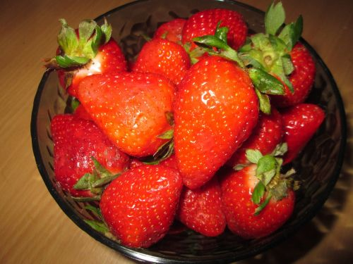 strawberries fruit fruits