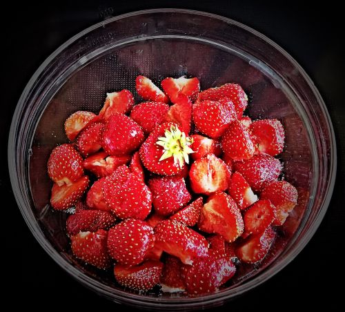 strawberries fruits fruit