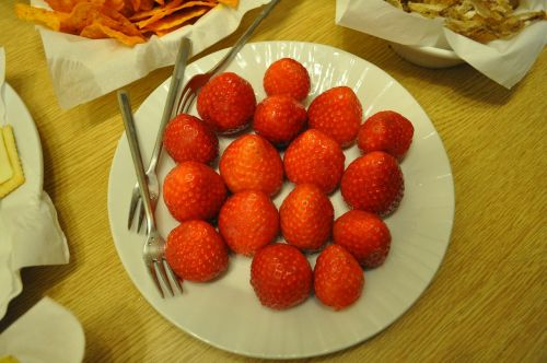 strawberry snack dessert