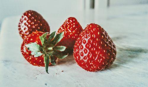 strawberry art tasty