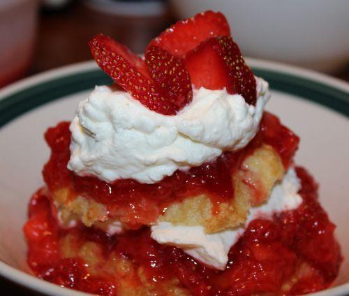 strawberry shortcake food
