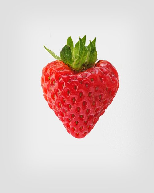 strawberry in heart shape  sweet strawberry  fresh strawberry