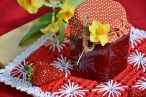 strawberry jam strawberries fruit