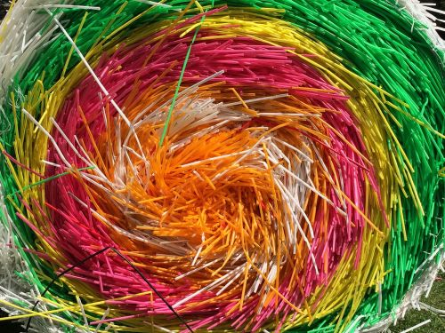 straws colorful color