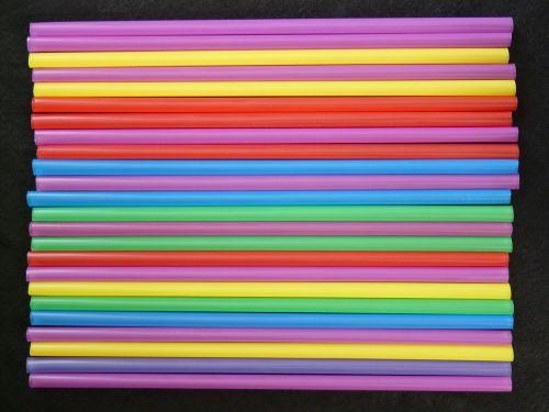 straws tube plastic