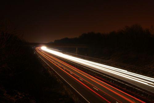 streaks motion blur light