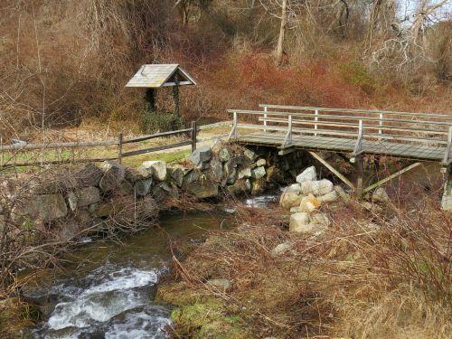 stream herring run water
