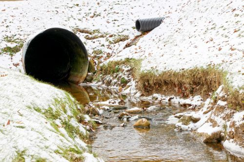 Stream Through Hillside