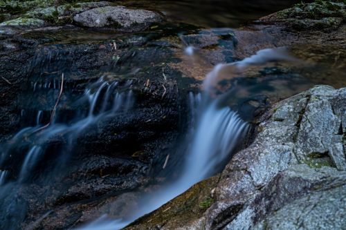 streams long exposure the wild