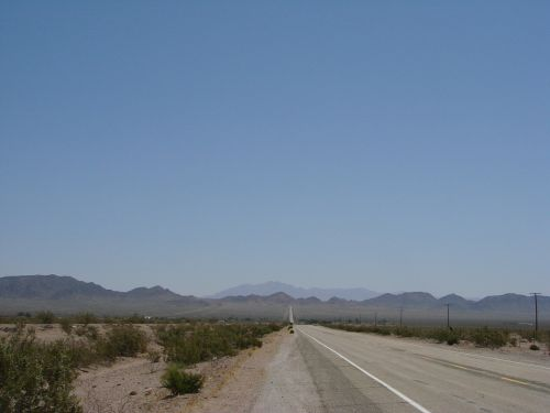 street desert route 66
