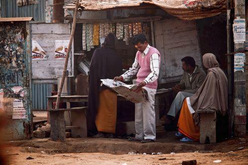 street vrindavana india