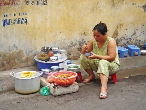 street vendor sell