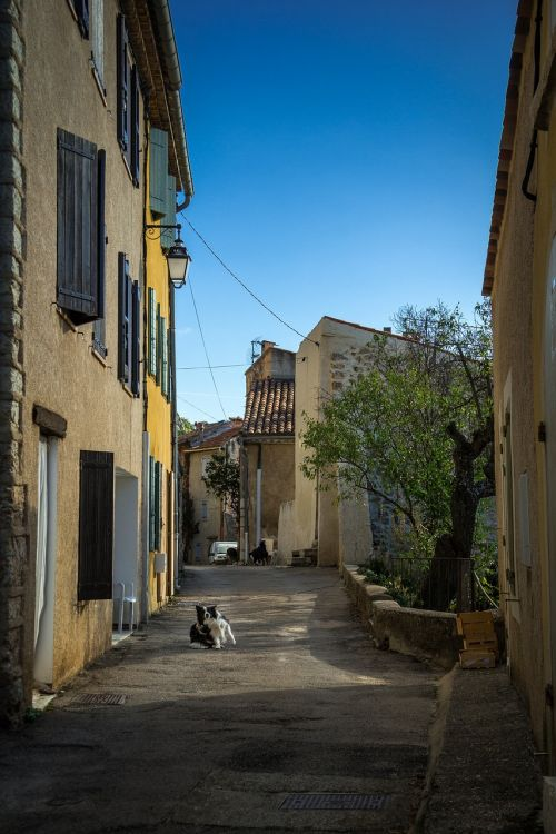 street aiguines provence