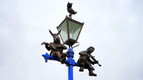 street lamp light