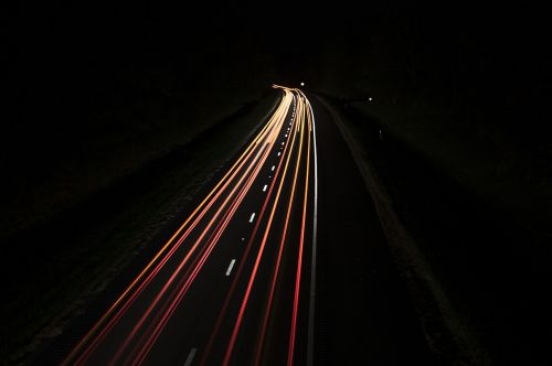 street night cars