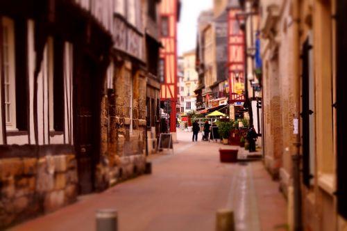 street rouen miniature