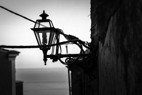 street city lamp