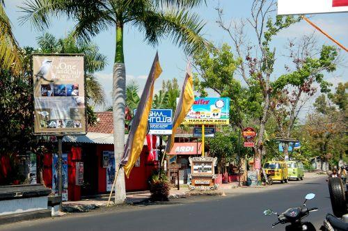 street bali travel