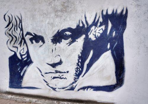 street art beethoven