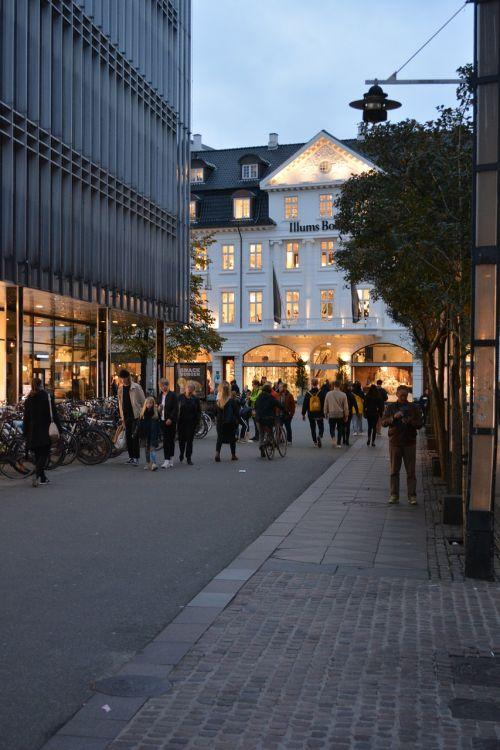 street twilight århus