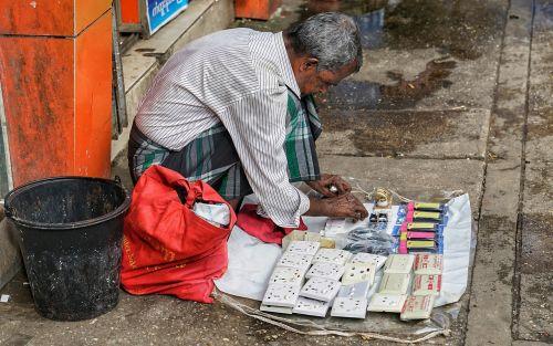 street seller trader