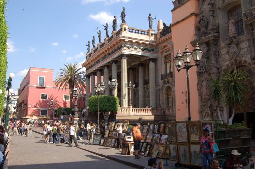 street architecture city